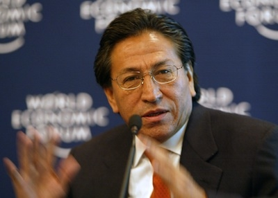 Peru's former President Alejandro Toledo