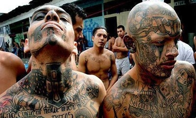 Tattoos used to be compulsory for Honduras gang members
