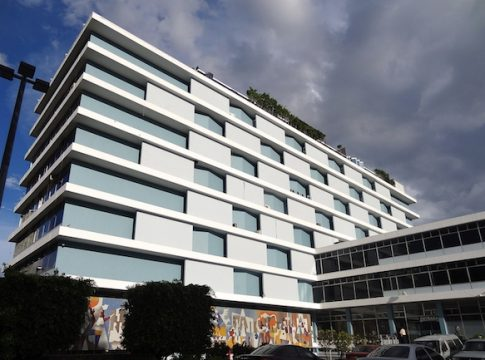 Guatemala's IGSS building