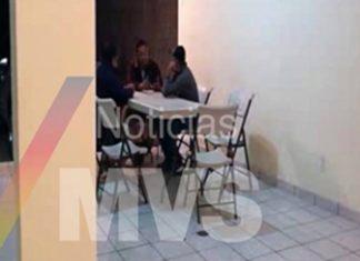 La Tuta meeting with journalists