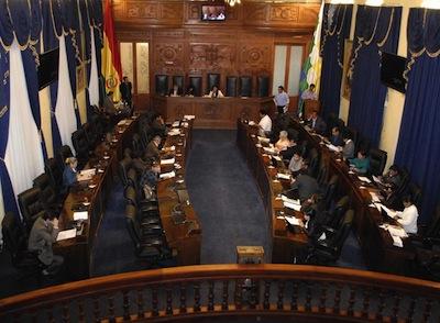 Bolivia's Senate