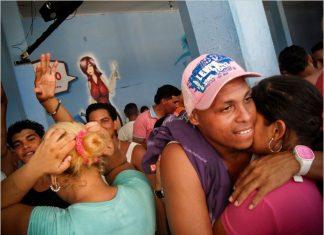A nightclub in a Venezuelan prison