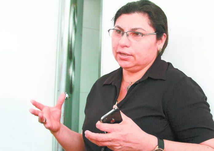 Marlene Banegas, a prosecutor allegedly killed by Barrio 18