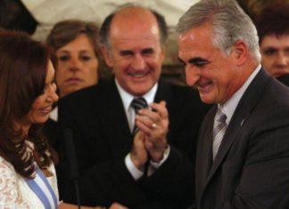 President Fernandez de Kirchner with Jose Ramon Granero