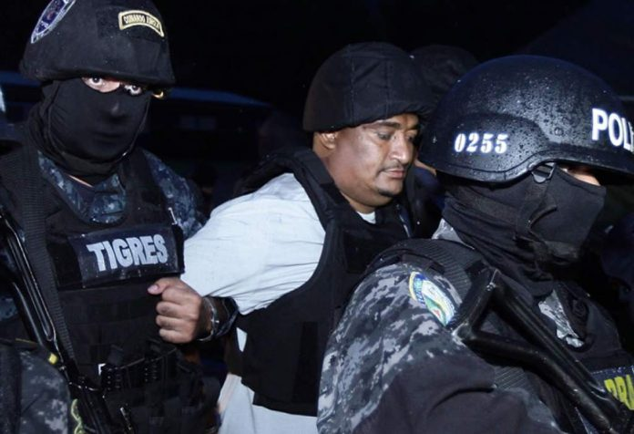 Juving Suazo, the second Honduran to be extradited