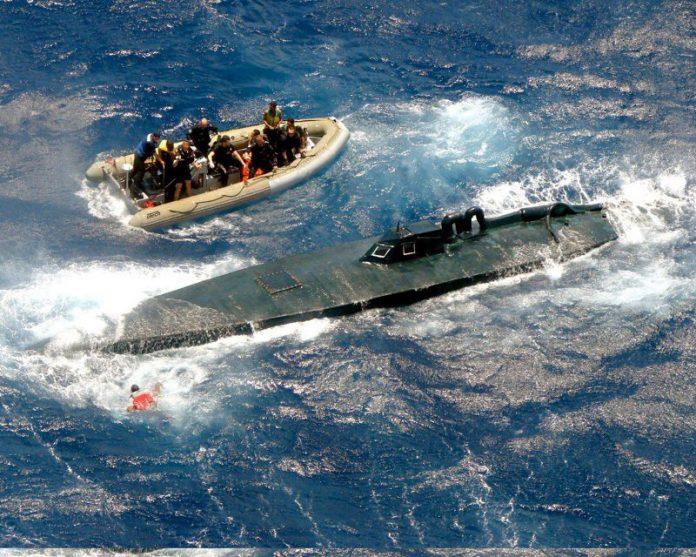 US Coast Guard intercepts semi-submersible