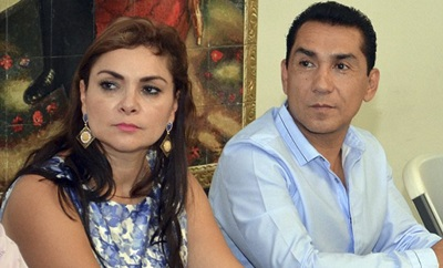 The Iguala ex-mayor and his wife, both accused of narco ties