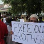 Muslims in Trinidad & Tobago protest the arrests
