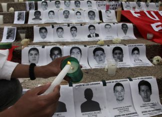 Mexico recorded over 5,000 disappeared in 2014
