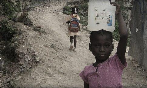 A domestic servant in Haiti