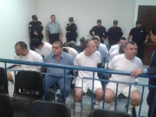 "Salvadoran drug trafficker ""Repollo"" (right)"