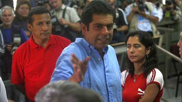 Martin Belaunde with President Humala and his wife