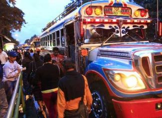 Guatemalan bus drivers suffer from extortion
