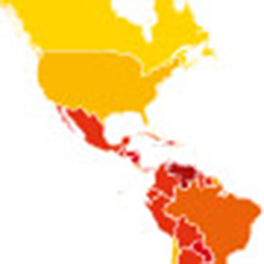 Map of Transparency International's 2014 Corruption Perceptions Index