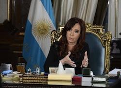 President Cristina Kirchner