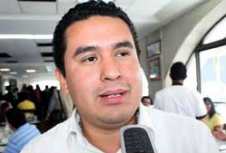 Omar Cruz, the mayor of Medellin de Bravo