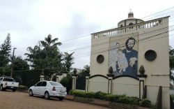 The church belonging to alleged drug trafficker
