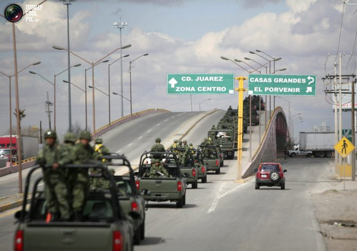 The reduction in troop presence in Ciudad Juarez has contributed to lower levels of violence