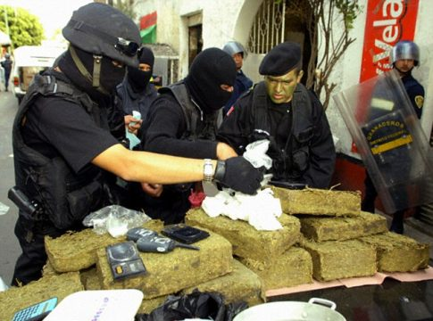 Contraband seizures in Mexico decreased in 2014