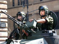 Members of the Mexican military