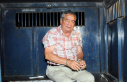Waldemar Lorenzana prior to his extradition