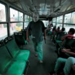 Buses are frequent scenes of extortion in Guatemala