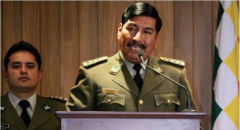 Ex Bolivia Police Chief Oscar Nina