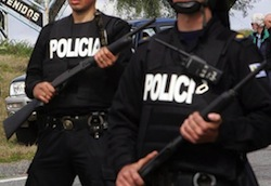 Police in the Buenos Aires province lost 900 firearms over the last 5 years