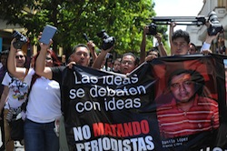 Murder of 2 journalists sparked protests in Guatemala
