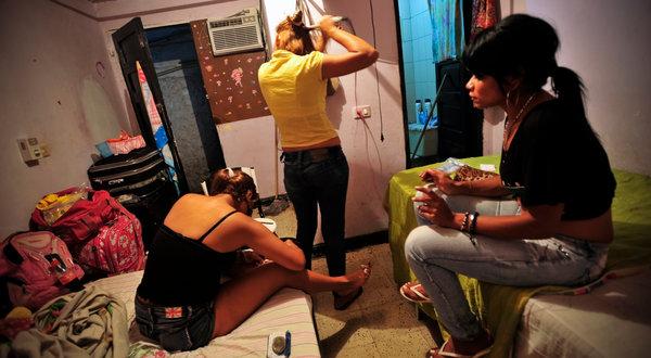 Sex workers in Cartagena