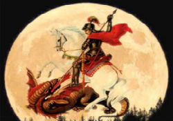Saint George, the warrior saint