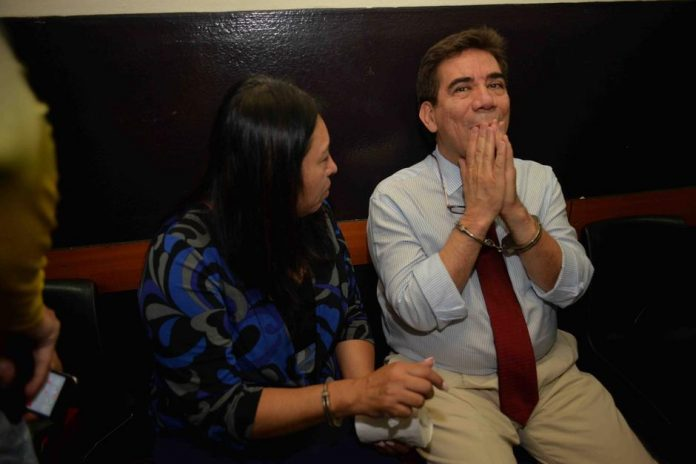 Captured lawyer Jose Arturo Morales