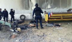 Police killed 42 alleged gunmen in Michoacan