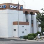 A Chase bank in Nogales, Arizona