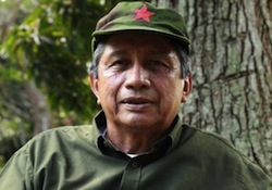 Killed FARC leader Jairo Martinez