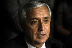 Guatemala President Otto Perez Molina