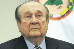 Former Conmebol President, Nicloas Leoz