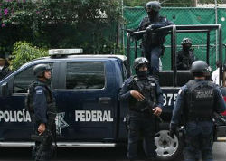 Mexican Federal Police officers