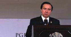 Tomas Zeron of Mexico's PGR