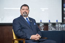 Costa Rican Security Minister Gustavo Mata