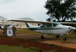 Suspected drug plane seized by authorities