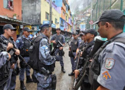 Military police in Brazil