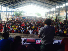 Colombia coca farmers gather for Putumayo summit