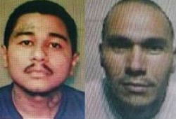 Escaped Salvadoran gang members