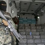 Mexican Marine guards seized cocaine shipment