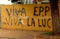 Graffiti showing supporting for the EPP