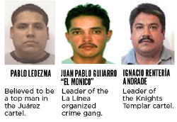 Former Mexico's Most Wanted criminals