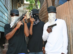Jamaica is home to powerful street gangs