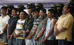 Mexican authorities have identified seven new cartels