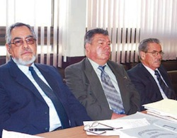 Alfredo Moreno Molina (center)